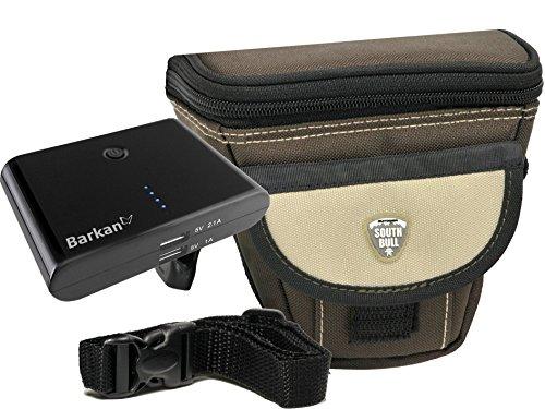 Foto Kamera Tasche Southbull M Set mit externer Powerbank 8800 mAh für Sony Alpha 6500 6300 6000 5100 5000 und viele mehr