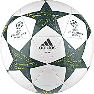 adidas Finale16 Cap - Balón de fútbol, color blanco, talla 5