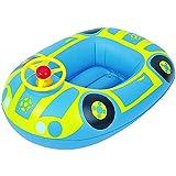 Jilong 36005- Flotador para bebés, coche con volante