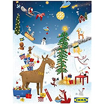 ikea adventskalender 2017 der kultige weihnachtskalender mit ikea gutscheinkarten und feinsten. Black Bedroom Furniture Sets. Home Design Ideas