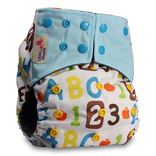 d365a6adb LittleBloom Bebé Pañales Lavables Pañal Reutili.