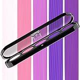Beste Lidschatten Palette Make-Up Atelier Paris T09 Shiny pink violet tones, Profi-Augenpalette mit 5 Farben, hoch pigmentierte Lidschatten
