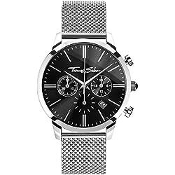 Thomas Sabo Herren-Armbanduhr Watches Chronograph Quarz Edelstahl WA0245-201-203-42mm