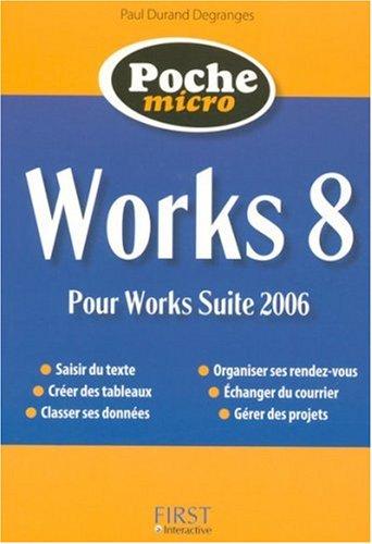 POC MICRO WORKS 8 par PAUL DURAND-DEGRANGES