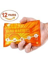 12 Pack Sets - Premium Hand Warmers to ensure Maximum Warmth & Comfort in Winter