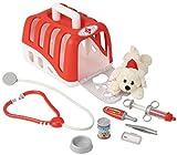 Theo Klein 4831 - Tierarztkoffer mit Hund Zubehör, Spielzeug