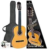 Encore ENC44OFT Set guitare classique droitier pleine taille en bois naturel