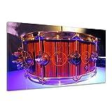 Snare Schlagzeug Trommel Musik Instrument Leinwand Poster Druck Bild dd1174 160x120
