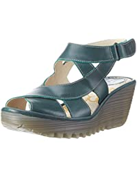 FLY London Damen Yona737fly Wedge Sandalen
