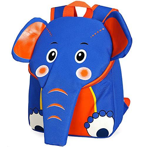 Mini Mochila 3D con diseño de Elefante Zoo para niños pequeños