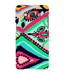 FIOBS Art with Colours Designer Back Case Cover for Samsung Galaxy A7 (2015) :: Samsung Galaxy A7 Duos (2015) :: Samsung Galaxy A7 A700F A700Fd A700K/A700S/A700L A7000 A7009 A700H A700Yd