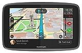 TomTom GO 6200Navigatore GPS per Auto, Display da 6', Scheda SIM Integrata, Aggiornamenti Tramite Wi-Fi, Chiamate Hands-Free, Nero [Versione EU]