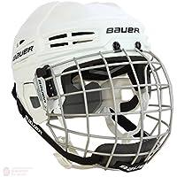 Bauer IMS 5.0Casco de hockey Combo, blanco