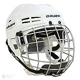 Bauer IMS 5.0Hockey Helm Combo Weiß weiß L