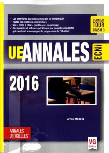 UE Annales 2016 / Arthur Michon,....- Paris : Éditions Vernazobres-Grego , 2016