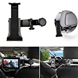 Car ipad holder,Wietus Car ipad Mount Holder with 360°Adjustable Rotating Car Back Seat for Tablets,iPad,Galaxy Tab, ebook,Samsung Galaxy iphone and the devices and tablet between 3.5 ~10 inches