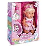 Nenuco 700012665-2 Trinkt und macht Pipi-Die kleine Mädchen, Pupp