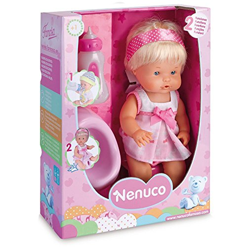 Nenuco - Muñeco bebé Que Hace pipí, versión niña (Famosa 700012665B)