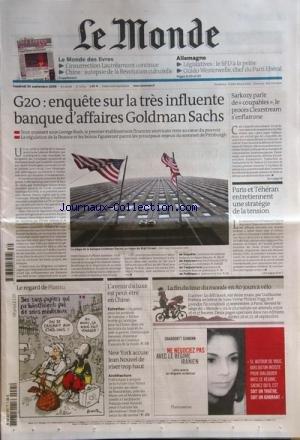 monde-le-no-20114-du-25-09-2009-g20-enquete-sur-la-tres-influente-banque-daffaires-goldman-sachs-sar