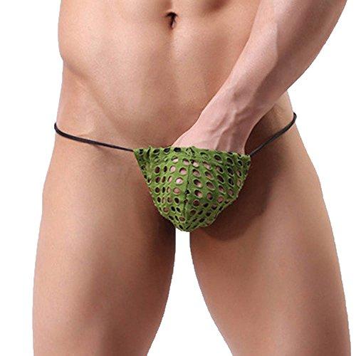 Cinnamou Calzoncillos Sexy Hombre Ropa interior slips transparentes hombre  pantalones cortos tangas lenceria hombre erotica disfraz a3327cd489f2
