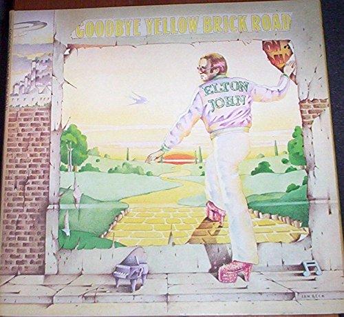 Elton John Goodbye Yellow Brick Road Original Double Album 12 inch 33 rpm LP Vinyl Album Record [Vinyl]