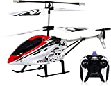 #1: Sai Amrut V-Max HX-713 Radio Remote Controlled Helicopter With Unbreakable Blades - Multi Color