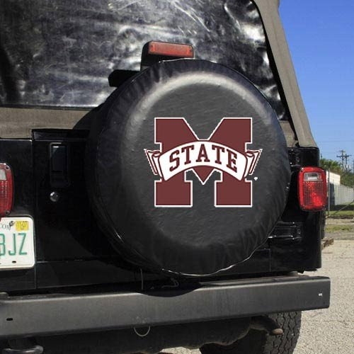 Fremont Die NCAA Mississippi State Schwarz Ersatzrad, Eine Größe, Multicolor