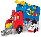 Mega Bloks Mon Camion de Course, jeu de voiture et de blocs de construction, 15 pièces, jouet pour bébé et enfant de 1 à 5 ans, FVJ01