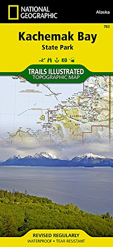 Alaska - Kachemak Bay State Park: Trails Illustrated 1:105600 (National Geographic Trails Illustrated Map, Band 763) - Bay State Park