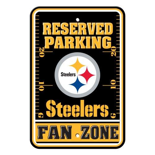 Fremont Die NFL Pittsburgh Steelers Kunststoff Parken Schild