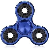 Hand Spinner Stress Relief Jouet,Jouet Tri-Spinner Fidget Toy 3D Céramique Jouet EDC Focus pour le temps de tuer