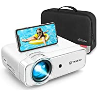 VANKYO L430W WiFi Projector, Wireless Screen Mirroring Portable Projector, Full HD 1080P Supported, 236'' Display Compatible with TV Stick, HDMI, VGA, USB, PS4, Laptop, iPhone, Android