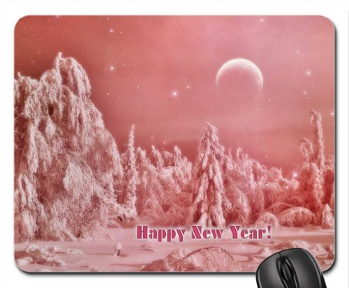 Sun Vigor Mouse Pad Large Oblong Shaped Halloween Bats Skeleton Tree Natural Eco Rubber Design Durable Mouse Mat COMPUTER Accessories Gaming Mouse Pads for Gift