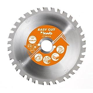 kwb EASY-CUT Kreissäge-Blatt für Handkreissägen, Made in Germany, Ø 210 x 30 mm, 34 Zähne