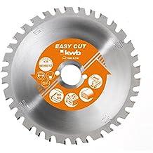 kwb 584333 160mm hoja de sierra circular - hojas de sierra circular (Aluminio, Aglomerado, Madera noble, Metal no ferroso, De plástico, Chapa metálica, 16 cm, 1,6 cm, 1,8 mm, 7000 RPM, 2,8 mm)