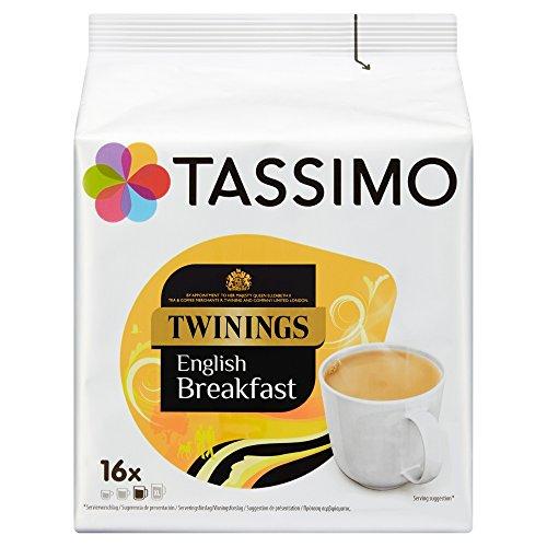 Tassimo Twinings - Capsulas Te Desayuno Ingles -Paquete