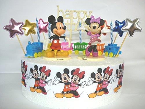 us Geburtstag Kuchen-Deko-Set (Mickey Maus Geburtstag)