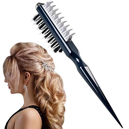 Haarbürste Multifunktion, Toupierbürste, 2019 Neueste Style Comb Instant Hair Volumizer Kämmbürste, Tragbare Haarkamm für Damen und Herren, Volumizer Haarglätter Anti-Frizz