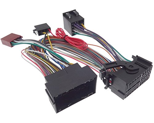 PARROT THB Adapter Alfa/Dodge/Fiat/Jeep/Opel 52pin BLUETOOTH Quadlock ISO Kabel - Ck3000 Bluetooth