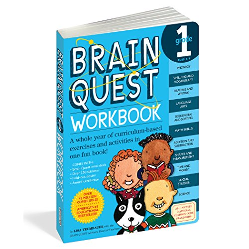 Brain Quest Grade 1 Workbook por Lisa Trumbauer
