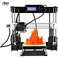 Anet A8 DIY 3D Printer Kits Reprap i3 Upgrade MK8 Extrusora 220 * 220 * 240mm