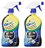 Clecide Faucet and Bathroom Fittings Cleaner(Tap Cleaner, Acid-Free) - 500 ml, Pack of