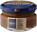 Saphir Cirage Crème Surfine Pommadier (50 ml MARRON CLAIR 03)