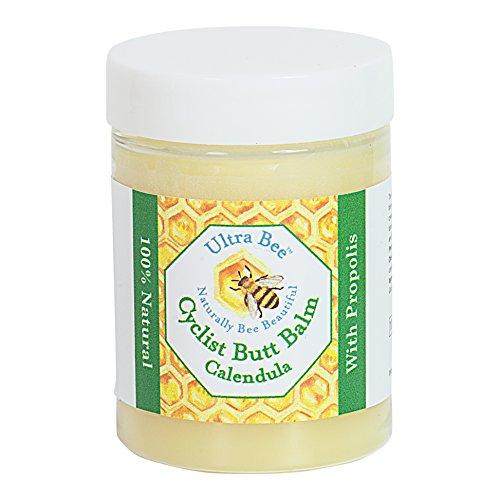 Radsportler Po Anti Scheuern Chamois Creme - Bienen Propolis Honig & Calendula 100ml - 100% natürlich -