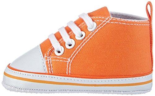Playshoes Baby Turnschuhe, Sneaker 121535, Unisex-Kinder Sneaker, Blau (marine 11), EU 16 Orange (orange 39)