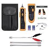 Incutex Wire Tracker Kabelfinder, RJ45/RJ11 Finder, für Telefonkabel und LAN-Kabel,...
