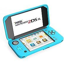 MoKo Grip para Nintendo New 2DS XL – Mango antideslizante con soporte para New Nintendo 2DS XL 2017 ( Azul )