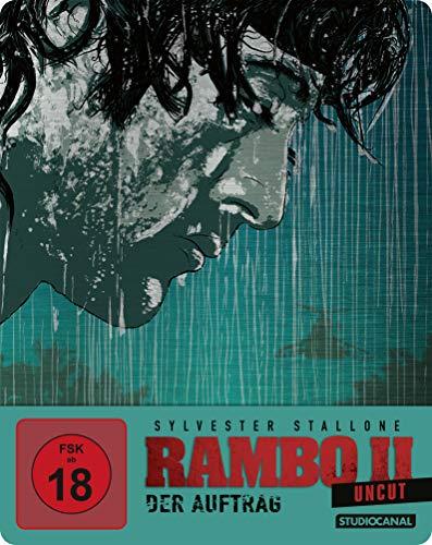 Rambo II - Der Auftrag / Uncut / Limited SteelBook Edition [Blu-ray]