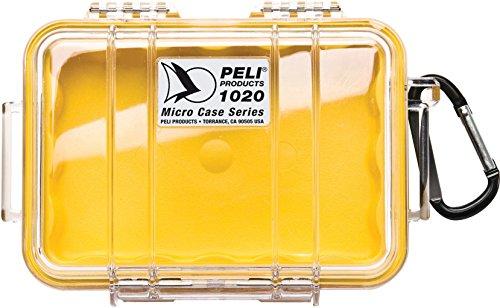 Peli 1020 mit Innen - Gelb, Außen - Klar