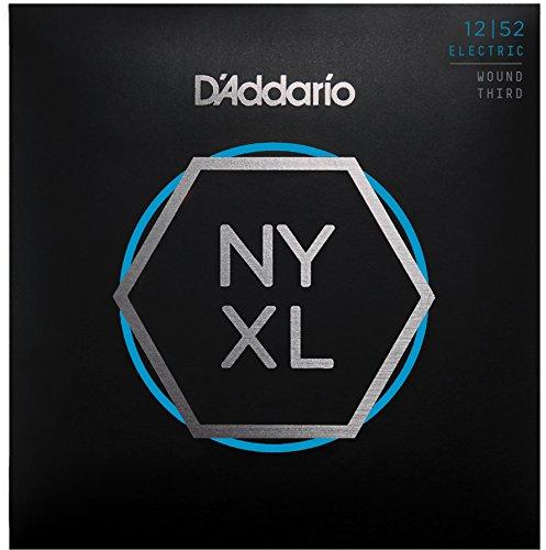 D'Addario  NYXL1252W Nickel Wound E-Gitarre Saitensatz (Light 3rd, 12-52)